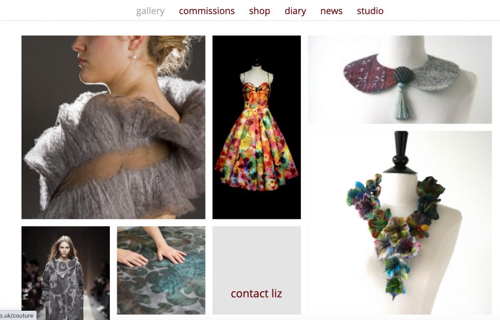 Liz Clay website